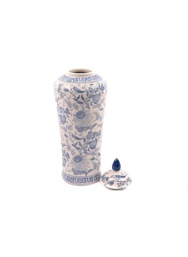 Mikasa Moor New Blue Uzun Porselen Küp 15x50cm Mavi